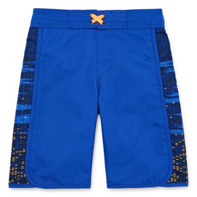 f3fb0ae109 Xersion Boys Grid Swim Trunks-Preschool - JCPenney