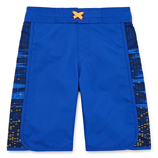 Xersion Boys Grid Swim Trunks