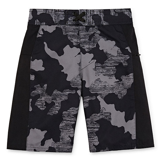 Xersion Boys Camouflage Swim Trunks