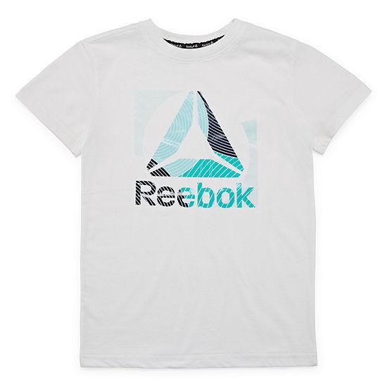 Reebok Boys Crew Neck Short Sleeve Graphic T Shirt Preschool Big Kid