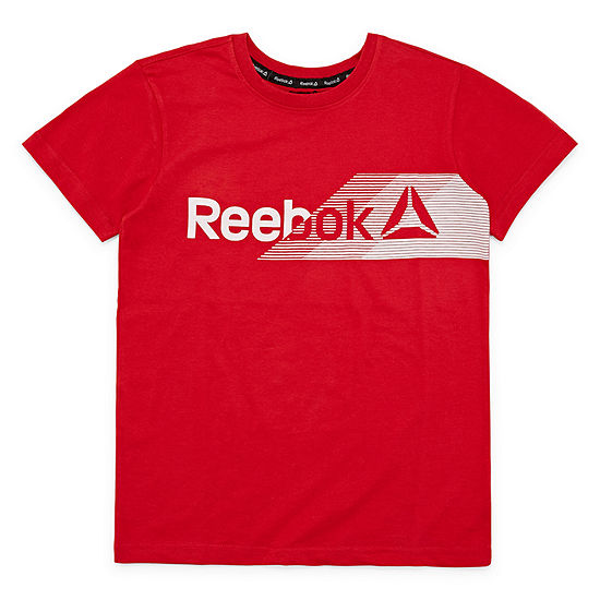 Reebok Boys Crew Neck Short Sleeve Graphic T-Shirt Preschool / Big Kid