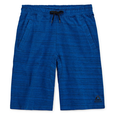 Reebok Boys Mid Rise Drawstring Waist Pull-On Short Preschool / Big Kid