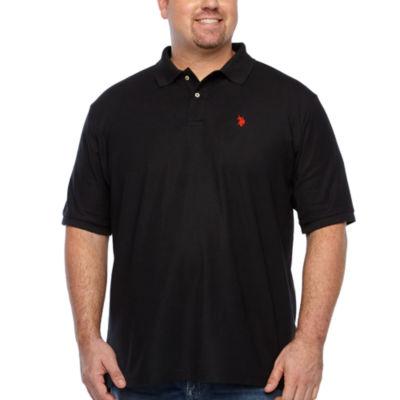 U.S. Polo Assn. Mens Short Sleeve Polo Shirt Big and Tall