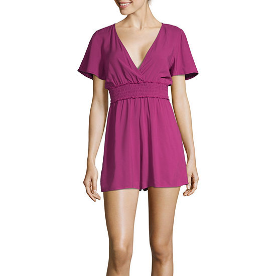 Society And Stitch Short Sleeve Romper Juniors