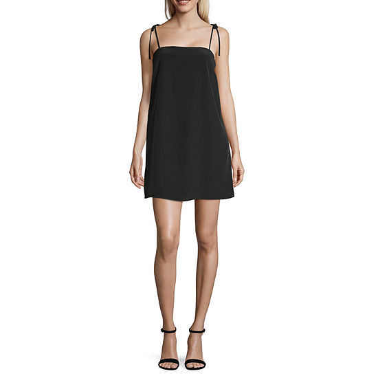 Society And Stitch Sleeveless Slip Dress-Juniors