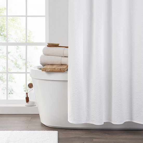 Fieldcrest Seersucker Shower Curtain