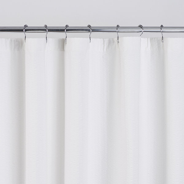 Fieldcrest Seersucker Shower Curtain