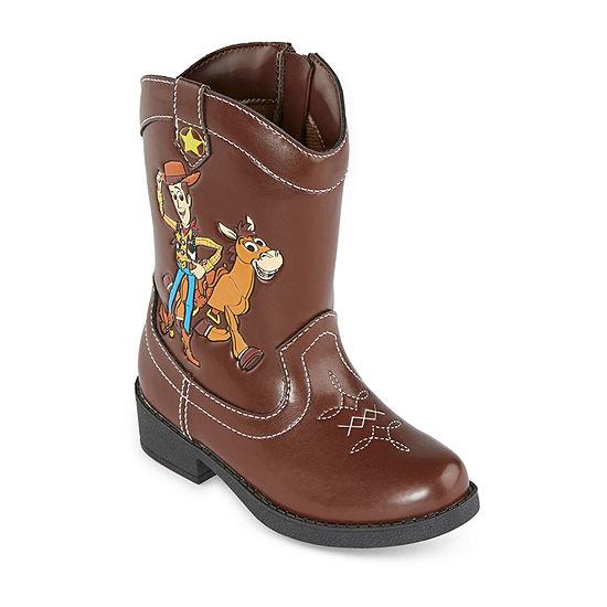 Disney Collection Toddler Boys Cowboy Boots