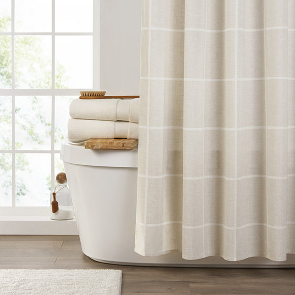 Fieldcrest Grid Shower Curtain