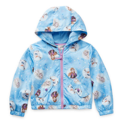 Disney Little & Big Girls Lightweight Windbreaker