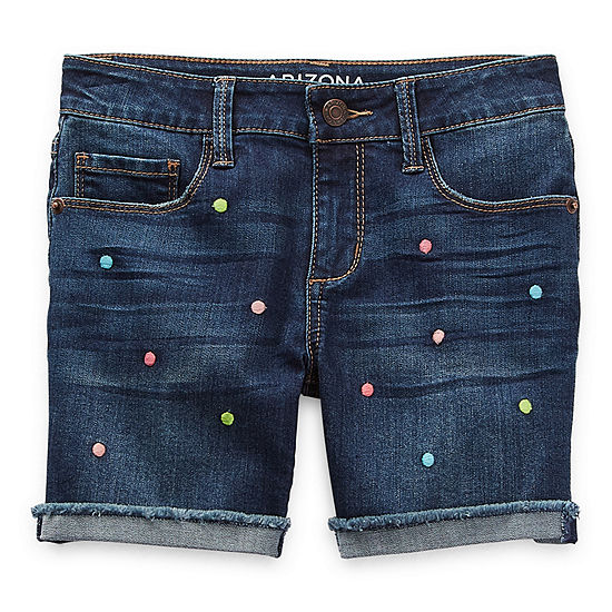 Arizona Little & Big Girls Midi Short