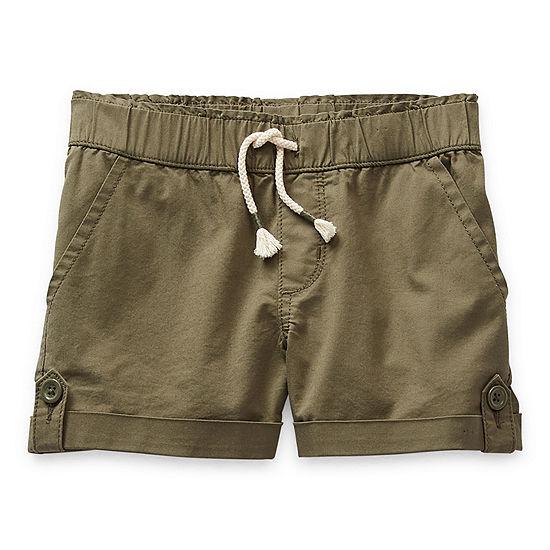 Arizona Pull-On Little & Big Girls Shortie Short