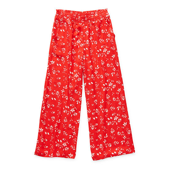 Arizona Little & Big Girls Wide Leg Palazzo Pant