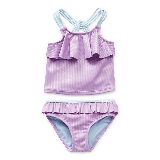 Okie Dokie Toddler Girls Bikini Set