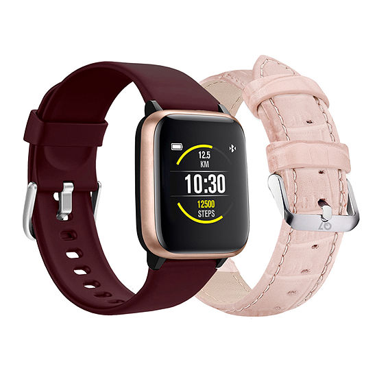 LIMITED TIME SPECIAL! Q7 Burgandy Smart Watch-900006r-18-O12