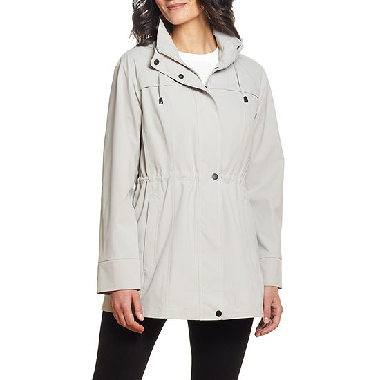 Miss Gallery Hooded Packable Midweight Raincoat