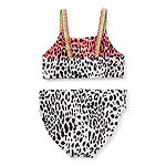 Arizona Reversible Little & Big Girls Leopard Bikini Set