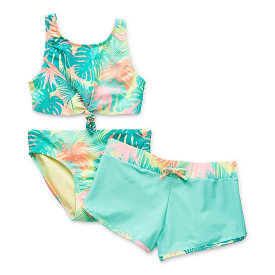 Arizona Little & Big Girls Bikini Set