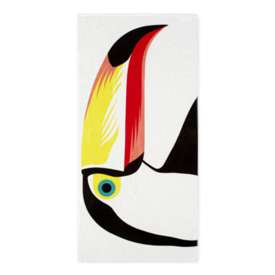 Outdoor Oasis Toucan Beach Towel