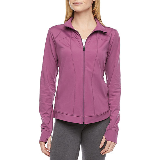 Xersion Womens Long Sleeve Quarter-Zip Pullover