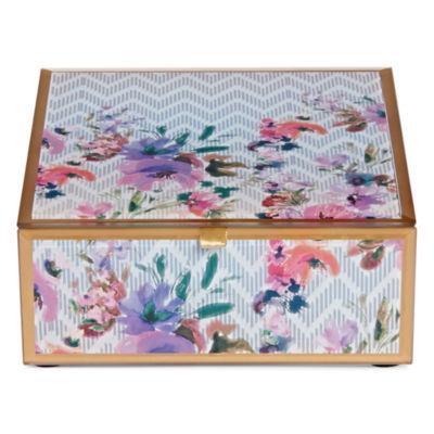 Adrienne Vittadini Square Jewelry Box