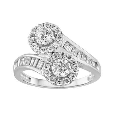 Two Forever™ 1 C.T. TW. Diamond 10K White Gold Ring