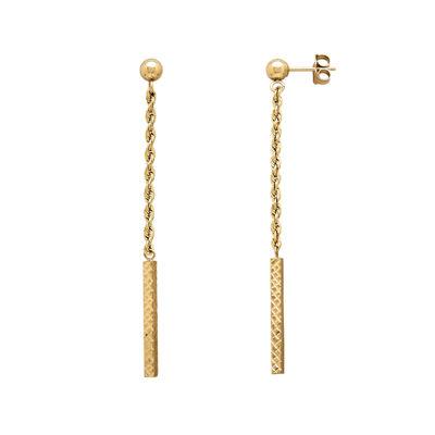 Infinite Gold™ 14K Yellow Gold Dangle Earrings