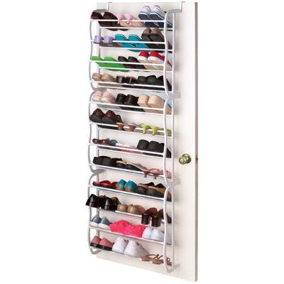 Sunbeam® Over The Door 36 Pair Shoe Rack