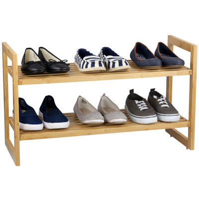 Sunbeam® Bamboo Shoe Rack