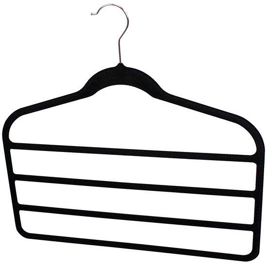 Sunbeam® 3-Pack Non-Slip Velvet Trouser Hangers