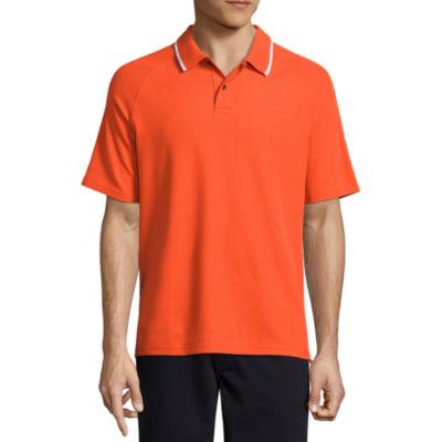St. John's Bay Easy Care Short Sleeve Pique Polo Shirt