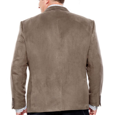 Collection by Michael Strahan Faux Suede Sport Coat-Big and Tall