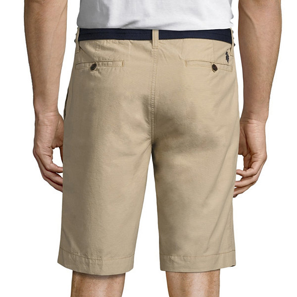 U.S. Polo Assn. Striped Chino Shorts
