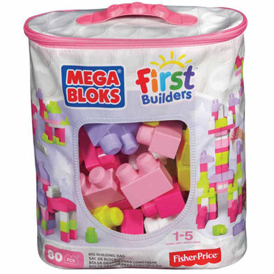 Fisher Price Mega Bloks First Bulider 80PC Bag