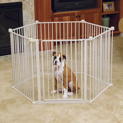 Carlson 144-Inch Wide Gate and Pet Pen