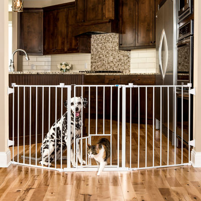 Carlson 76-Inch Wide Configurable Pet Gate