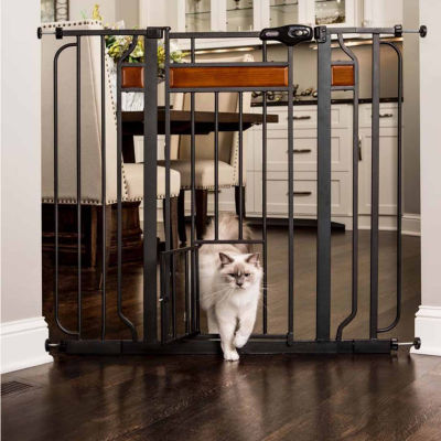 Carlson Home Accents Extra Tall Pet Gate with New Zealand Wood