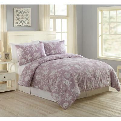 Modern Heirloom Henrietta Floral 3-pc. Comforter Set
