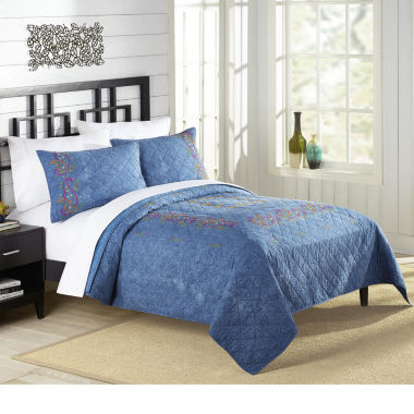 jcpenney.com | 1977 Dry Goods Kelly Denim Quilt & Accessories