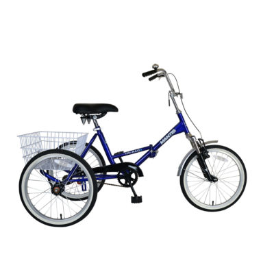 Mantis Tri-Rad Unisex Folding Adult Tricycle