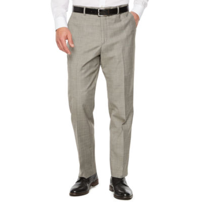 Stafford Checked Slim Fit Suit Pants