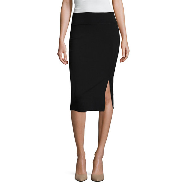 Worthington Pencil Skirt with Slit