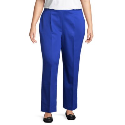 Alfred Dunner Upper East Side Classic Pant- Plus Short