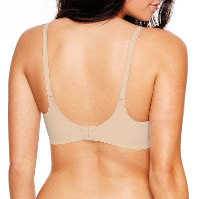Hanes Ultimate Smooth Inside And Out Foam Comfortflex Fit® Wireless T-Shirt Full Coverage Bra-Hu05