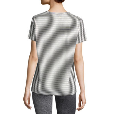Xersion Double Cutout Tee - Tall