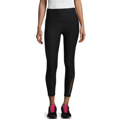"""Xersion Lace Inset 7/8 Legging - Tall Inseam 26.5"""""""