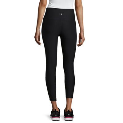 Xersion Lace Inset 7/8 Legging - Tall Inseam 26.5""