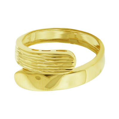 Made in Italy Womens 4.5mm 14K Gold Band
