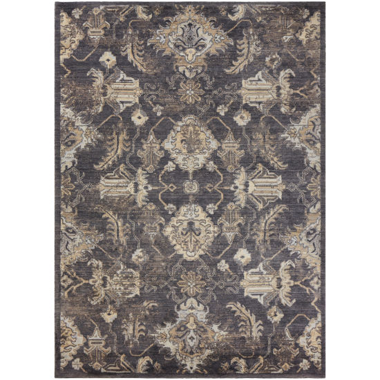 Rizzy Home Millennium Star Collection Theo Power-Loomed Wool Rug