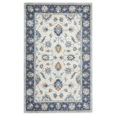 Rizzy Home Arden Loft-Crown Way Collection AureliaHand-Tufted Floral Rug